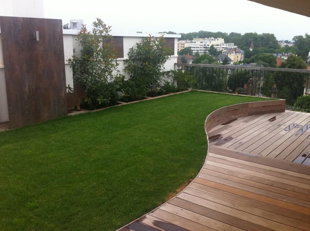 Amenagement exterieur bois terrasse duppigheim strub bois for Amenagement exterieur bois